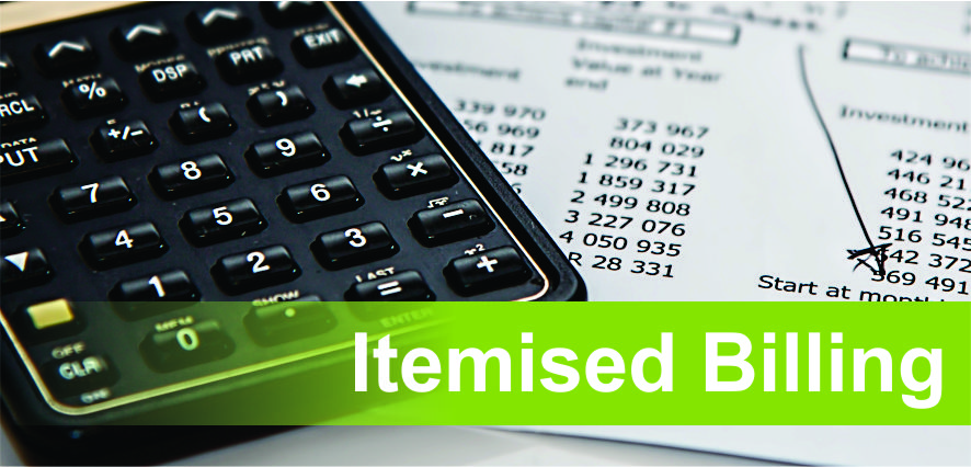 Itemised Billing